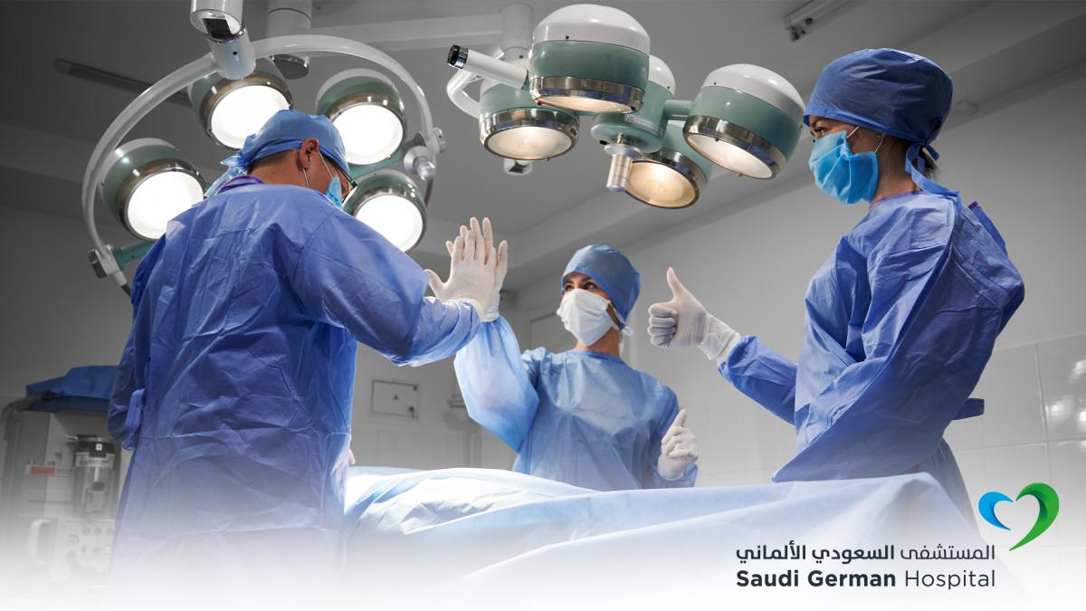 Saudi German Hospital in Riyadh rescues an arm from amputation